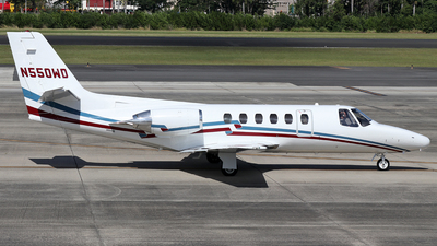 N550WD - Cessna 550 Citation II - Private