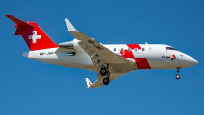 HB-JWC - Bombardier CL-600-2B16 Challenger 650 - REGA - Swiss Air Ambulance