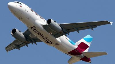 A picture of DAGWX - Airbus A319132 - Eurowings - © Javier Rodriguez - Amics de Son Sant Joan