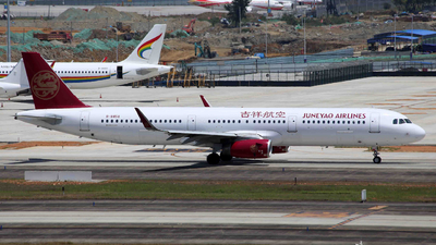 B-8458 - Airbus A321-231 - Juneyao Airlines
