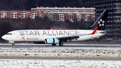 OE-LNT - Boeing 737-8Z9 - Austrian Airlines