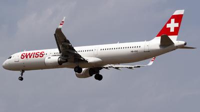 HB-IOO - Airbus A321-212 - Swiss