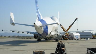 F-GSTC - Airbus A300B4-608ST Super Transporter - Airbus Transport International
