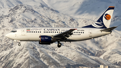 A picture of EPKPA - Boeing 737524 - Caspian Airlines - © DARA ZARBAF