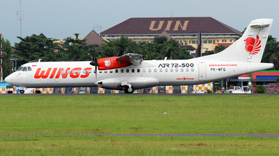 PK-WFQ - ATR 72-212A(500) - Wings Air