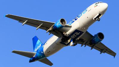 9K-CAJ - Airbus A320-214 - Jazeera Airways