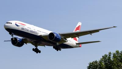 G-RAES - Boeing 777-236(ER) - British Airways
