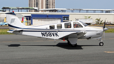 N59VK - Beechcraft G36 Bonanza - Private