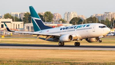 C-GWSP - Boeing 737-7CT - WestJet Airlines