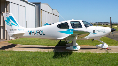 VH-FOL - Cirrus SR20 - Flight One