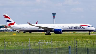 A picture of GXWBA - Airbus A3501041 - British Airways - © kchavgeek96