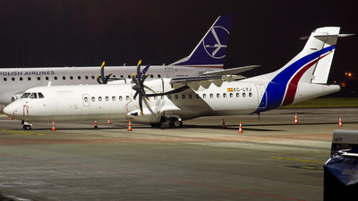 A picture of ECLYJ - ATR 72500 - Swiftair - © Grzesiek Krupa