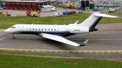 9H-PVL - Bombardier BD-700-1A11 Global 5000 - Hyperion Aviation