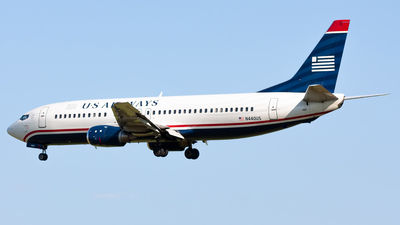 N440US - Boeing 737-4B7 - US Airways
