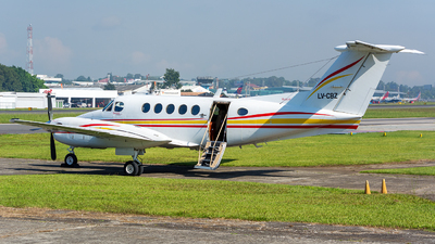 LV-CBZ - Beechcraft B200 Super King Air - Private