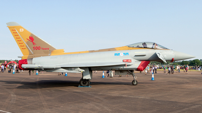 ZK342 - Eurofighter Typhoon FGR.4 - United Kingdom - Royal Air Force (RAF)