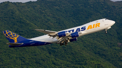 N852GT - Boeing 747-87UF - Atlas Air