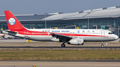 B-6778 - Airbus A320-232 - Sichuan Airlines