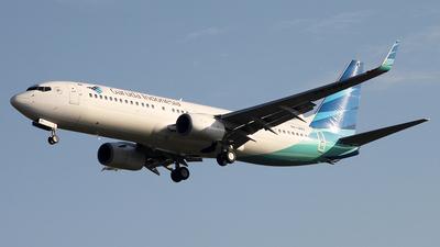 A picture of PKGMV - Boeing 7378U3 - Garuda Indonesia - © Francesco Andrae