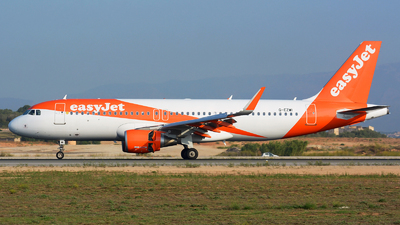 G-EZWI - Airbus A320-214 - easyJet