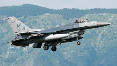 88-0516 - General Dynamics F-16C Fighting Falcon - United States - US Air Force (USAF)