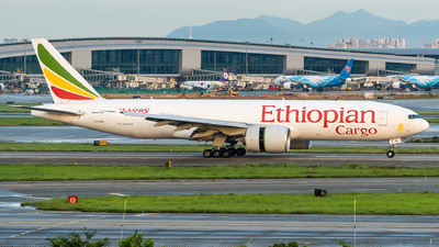 A picture of ETARJ - Boeing 777F60 - Ethiopian Airlines - © Ame_Jayzz