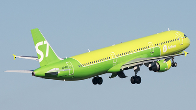 VQ-BQI - Airbus A321-211 - S7 Airlines