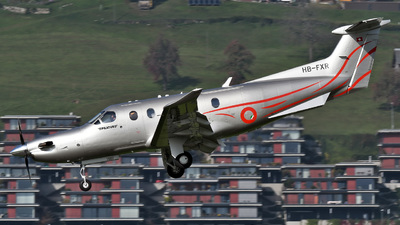 A picture of HBFXR - Pilatus PC12/47E - Pilatus Flugzeugwerke - © Mirko Bleuer