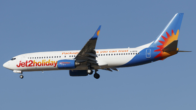 A picture of GDRTB - Boeing 73786N - Jet2 - © Borut