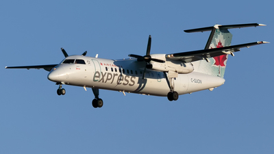 C-GUON - Bombardier Dash 8-301 - Air Canada Express (Jazz Aviation)