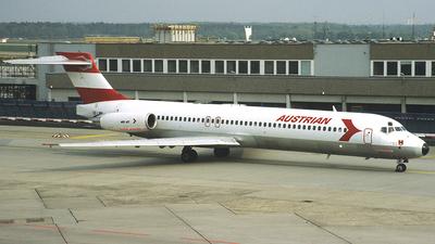 OE-LMN - McDonnell Douglas MD-87 - Austrian Airlines