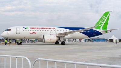 B-001F - COMAC C919 - COMAC
