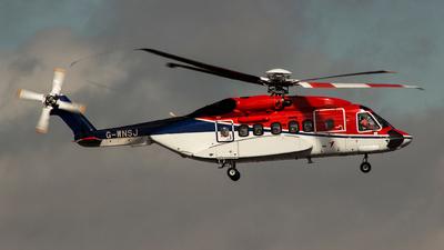 A picture of GWNSJ - Sikorsky S92A - CHC Helikopter Service - © Bradley Bygrave