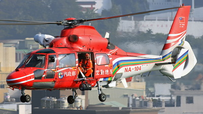 NA-104 - Eurocopter AS 365N2 Dauphin - Taiwan - National Airborne Service Corps (NASC)