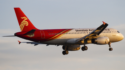 A picture of B6571 - Airbus A320232 - Shenzhen Airlines - © zhuenxu2003