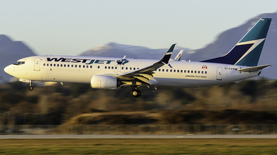 A picture of CFZRM - Boeing 7378CT - WestJet - © Christian Ordanza