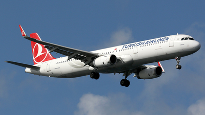 TC-JSP - Airbus A321-231 - Turkish Airlines