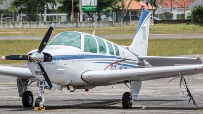 PT-WZZ - Beechcraft A36 Bonanza - Private