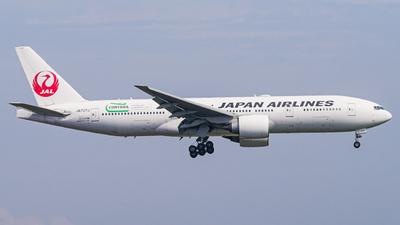JA707J - Boeing 777-246(ER) - Japan Airlines (JAL)