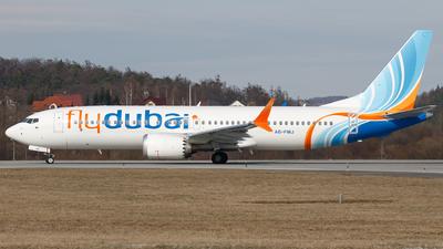 A picture of A6FMJ - Boeing 737 MAX 8 - FlyDubai - © Łukasz Stawiarz