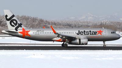 JA17JJ - Airbus A320-232 - Jetstar Japan Airlines