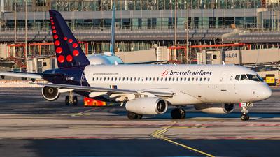 EI-FWF - Sukhoi Superjet 100-95B - Brussels Airlines (CityJet)
