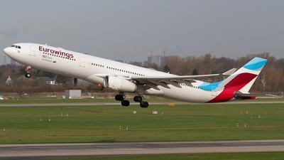 OO-SFJ - Airbus A330-343 - Eurowings (Brussels Airlines)