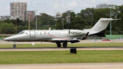 LV-CJY - Bombardier Learjet 40XR - Private
