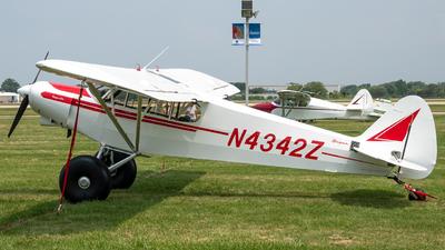 N4342Z - Piper PA-18-150 Super Cub - Private
