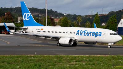 A picture of ECMUZ - Boeing 73785P - Air Europa - © Alberto Maroto - LCG Spotters