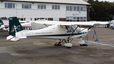 G-OSPH - Ikarus C42 FB100 Bravo - White Horse Aviation