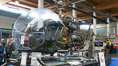 D-HWAL - Agusta-Bell AB-47G-4A - Private