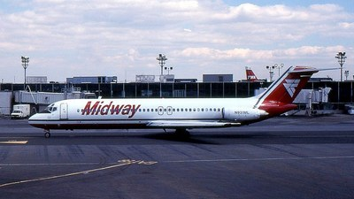 N931ML - McDonnell Douglas DC-9-31 - Midway Airlines