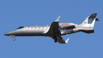 N372SC - Bombardier Learjet 60 - Private